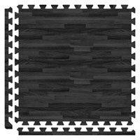 Black interlocking tiles | | Interlocking Floor Tiles | Interlocking Trade Show Flooring | The Inside Track