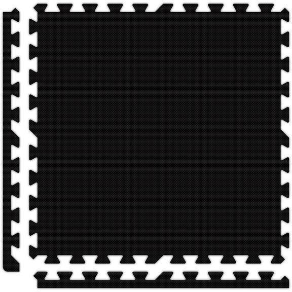 black | Interlocking Floor Tiles | Interlocking Trade Show Flooring | The Inside Track