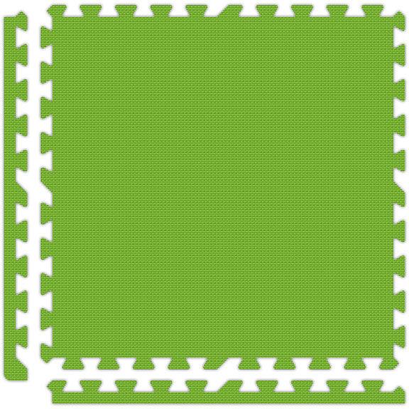 lime green | Interlocking Floor Tiles | Interlocking Trade Show Flooring | The Inside Track